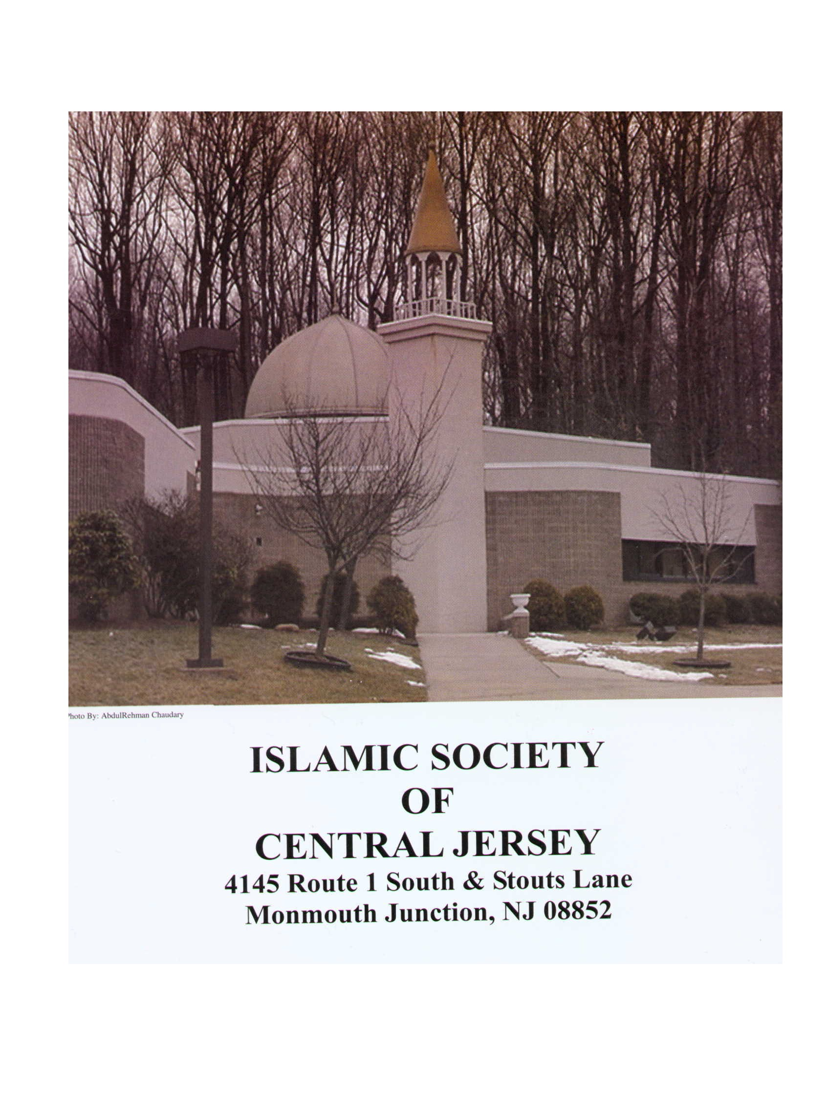 Islamic Society of Central Jersey